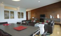 Youtei Tracks Living and Dining Area with TV | Upper Hirafu