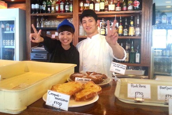 Lovely Staff Members Misae and Ryutaro