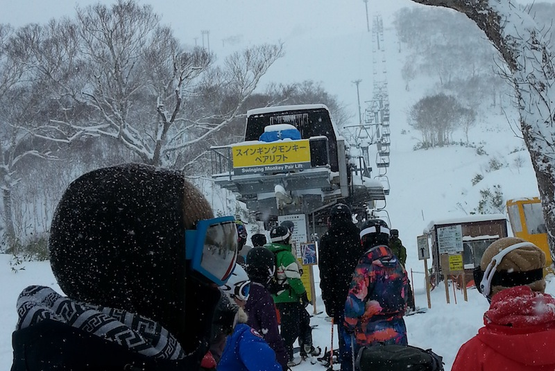 Powder day Hirafu Niseko