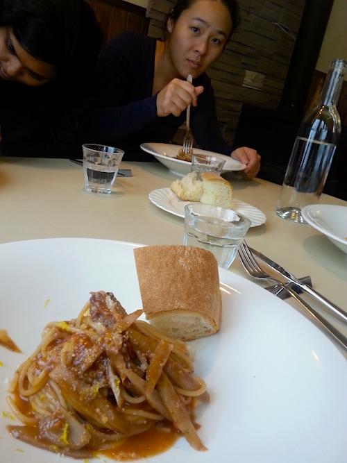 Lunch at L'ocanda Hirafu