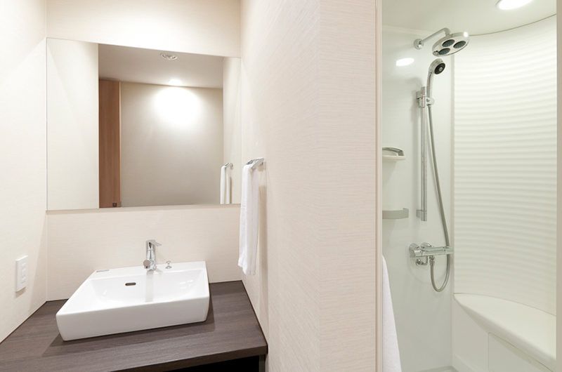 Akazora Bathroom with Shower | Middle Hirafu Village