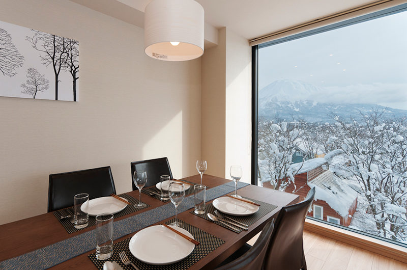 Akazora Dining Area with Mountain View | Middle Hirafu Village