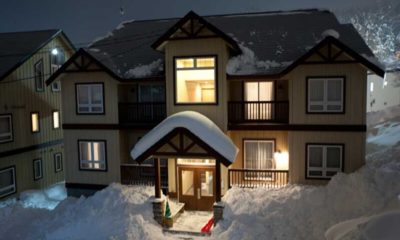 Niseko Alpine Apartments Outdoor View | Upper Hirafu Village