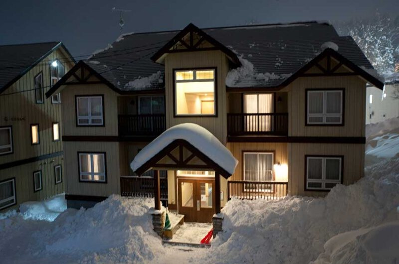 Niseko Alpine Apartments Outdoor View | Upper Hirafu Village