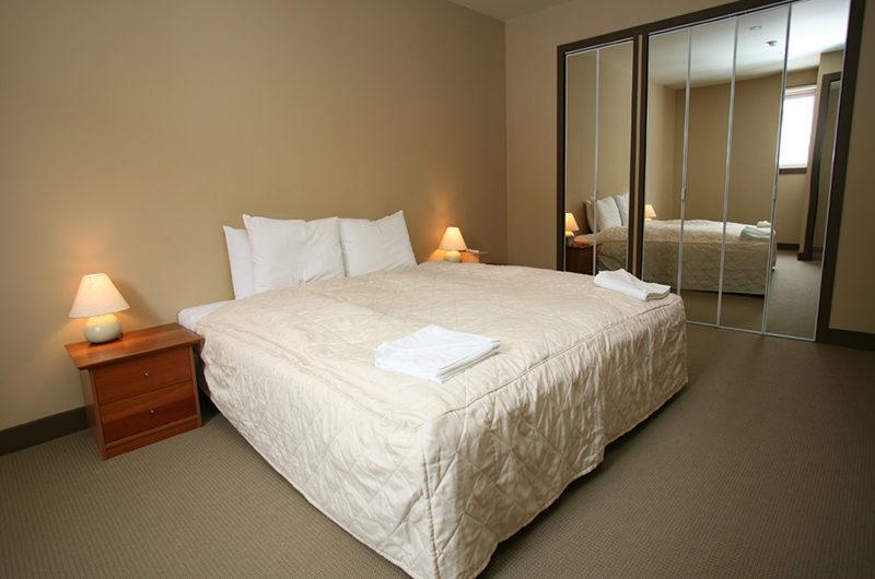 Niseko Alpine Apartments Bedroom with Wardrobe | Upper Hirafu Village