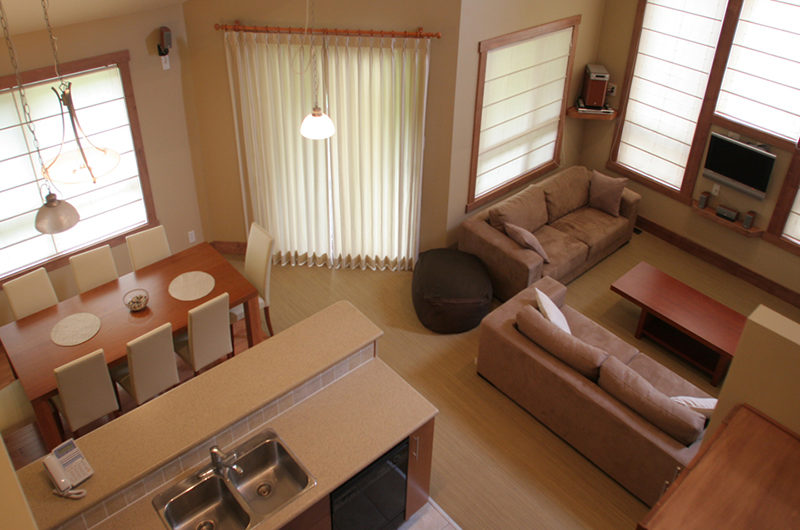 Niseko Alpine Apartments Living and Dining Room | Upper Hirafu Village