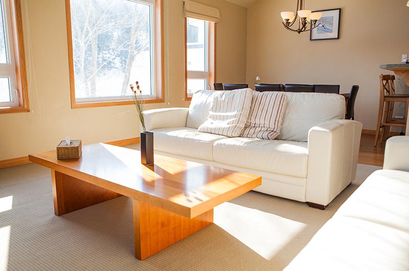Niseko Alpine Apartments Living and Dining Area | Upper Hirafu Village