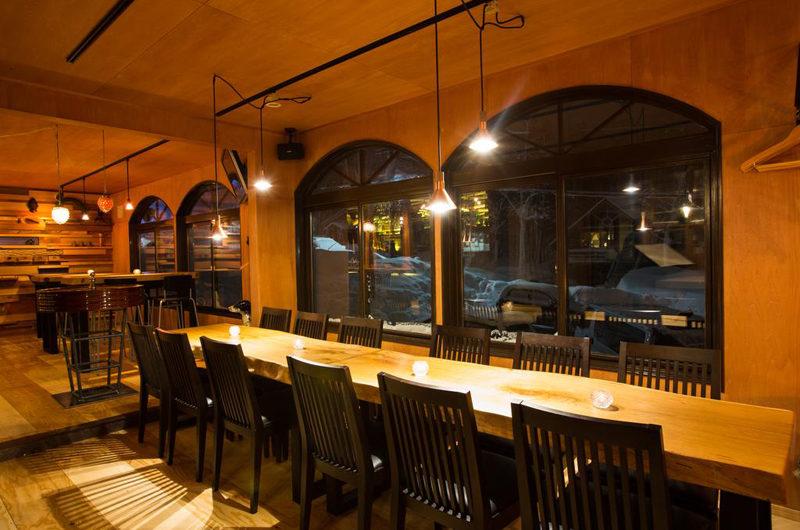 Annupuri Lodge Dining at Night | Annupuri