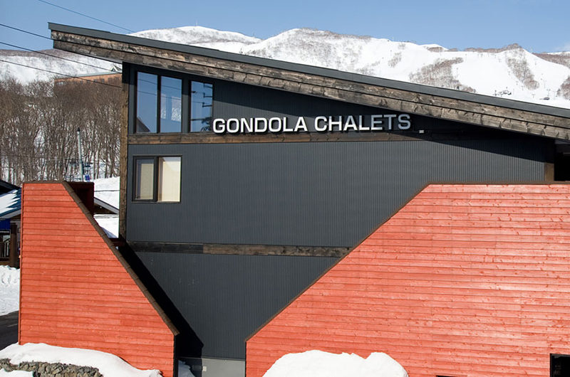 Gondola Chalets Outdoor View | Upper Hirafu