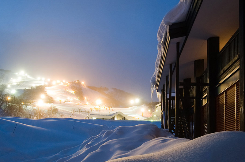 Gondola Chalets Outdoor Area | Upper Hirafu