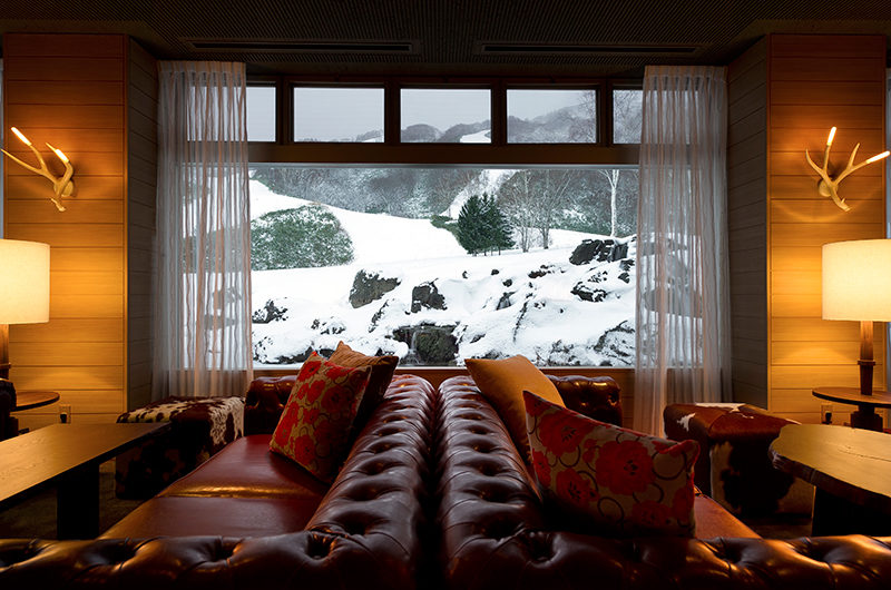Green Leaf Niseko Village Tomioka Lobby Lounge | Niseko Village