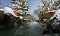 Green Leaf Niseko Village Outdoor Hot Spring Bath | Niseko Village