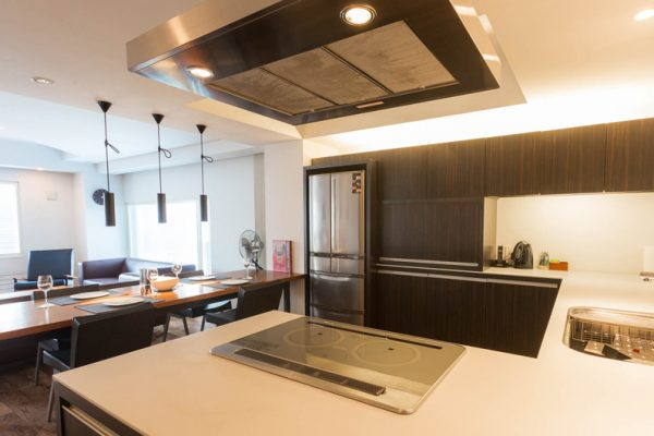 J-Sekka Suites Kitchen and Dining Area | Middle Hirafu