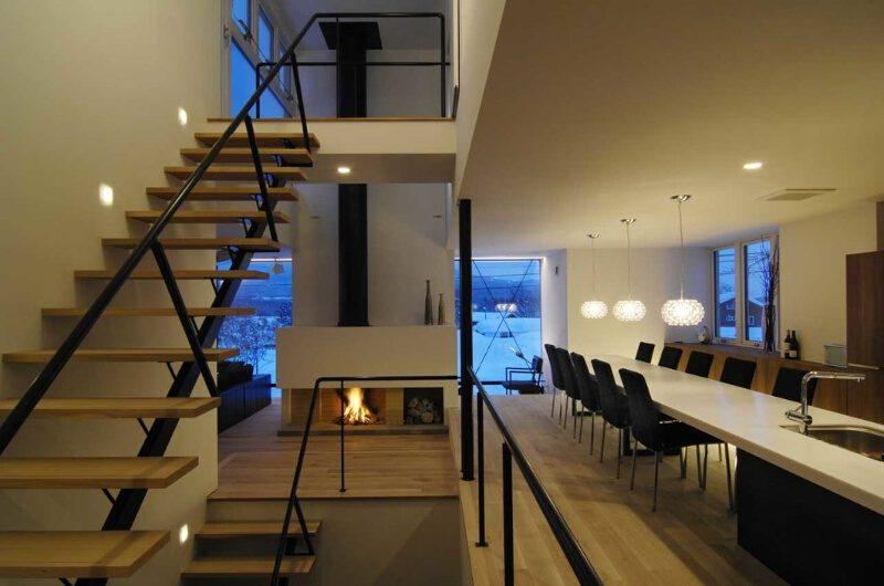 Sekka P4 Kado Dining Area near Up Stairs | Lower Hirafu