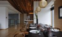 Niseko Kasetsu Indoor Dining Area | Lower Hirafu