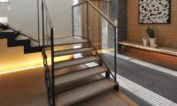 Niseko Kasetsu Way to Up Stairs | Lower Hirafu