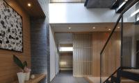Niseko Kasetsu Entrance Up Stairs | Lower Hirafu