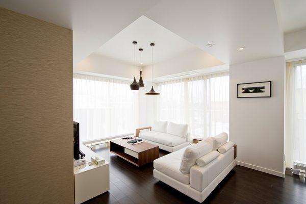 Kizuna Two Bedroom Deluxe Living | Upper Hirafu
