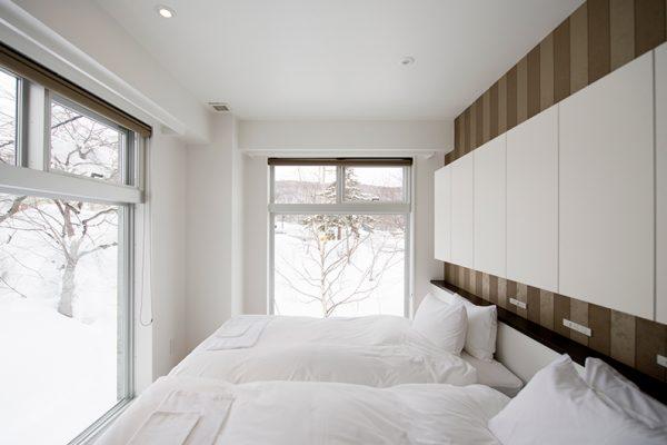 Kizuna Two Bedroom Premium Deluxe Bedroom | Upper Hirafu