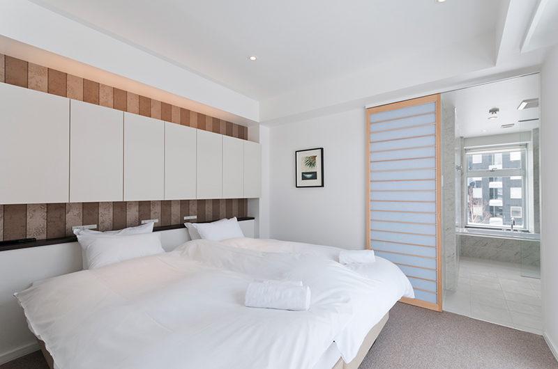 Kizuna Two Bedroom Premium Master Bedroom | Upper Hirafu
