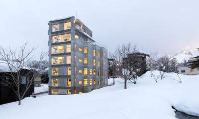 Kizuna Exterior | Upper Hirafu