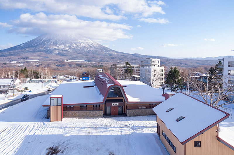 Lodge Hakuunso Outdoor View | Upper Hirafu
