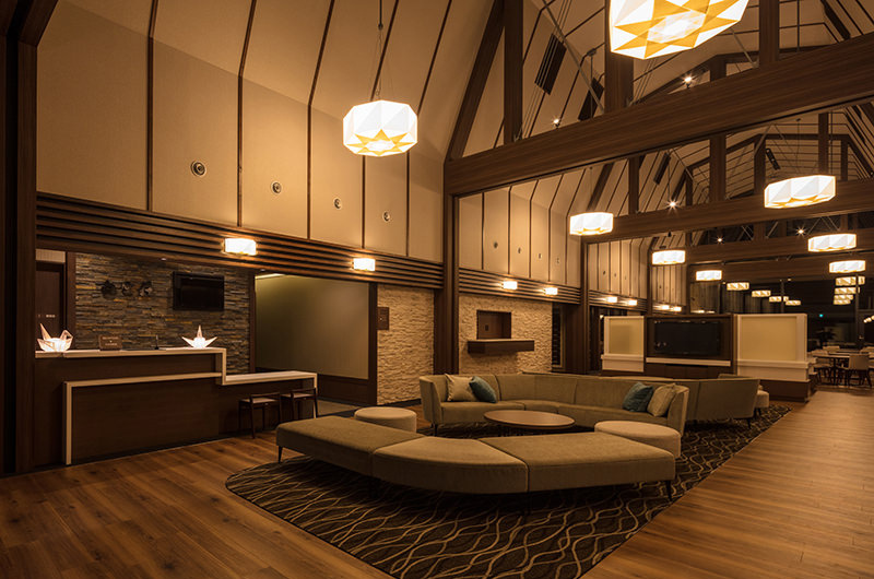 Lodge Hakuunso Living Area | Upper Hirafu
