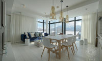 Loft Niseko Indoor Dining Area | Middle Hirafu