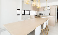 Loft Niseko Kitchen and Dining Area | Middle Hirafu