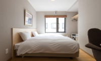 M Lodge Twin Bedroom with Window | Middle Hirafu Village