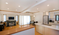 Mountainside Palace Kitchen Living and Dining Area | Upper Hirafu