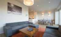 nisNiseko Landmark View Two Bedroom Premium Lounge Area | Upper Hirafu
