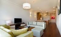 Niseko Landmark View Two Bedroom Standard Living, Kitchen and Dining Area | Upper Hirafu