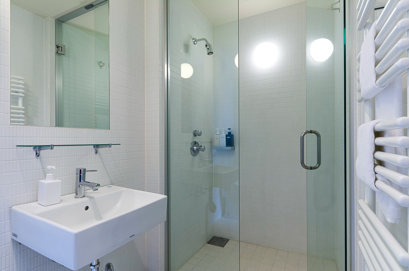 Niseko Landmark View Bathroom with Shower | Upper Hirafu