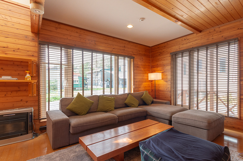 Powder Cottage Lounge Area | Middle Hirafu Village
