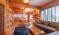 Powder Cottage Living, Kitchen and Dining Area | Middle Hirafu Village