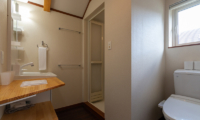 Powder Cottage Bathroom with Hair Dryer | Middle Hirafu Village