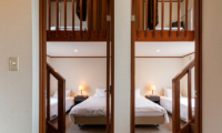 Powder Cottage Twin Bedroom View | Middle Hirafu Village