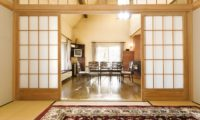 Powderhound Lodge Dining Area | Upper Hirafu