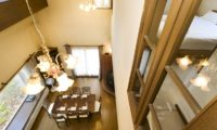 Powderhound Lodge Dining Area Top View | Upper Hirafu