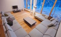 Sekka House Living Area with TV | Middle Hirafu