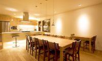 Seshu Kitchen and Dining Area | Lower Hirafu