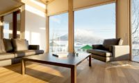 Seshu Living Area with Mountain View | Lower Hirafu