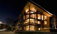 Seshu Exterior at Night | Lower Hirafu