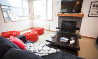 Shirokuma Chalets Lounge Area with TV | Middle Hirafu