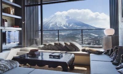 Suiboku Living Area with Carpet | Upper Hirafu Village