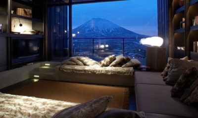 Suiboku Lounge Room with Mountain View | Upper Hirafu Village