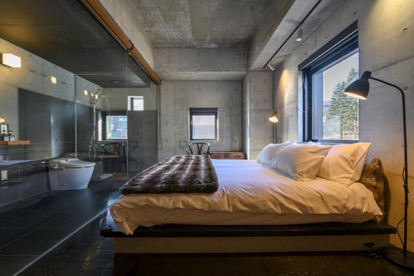 Suiboku Bedroom and En-Suite Bathroom | Upper Hirafu Village
