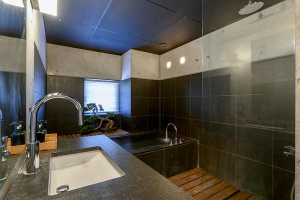 Suiboku En-Suite Bathroom | Upper Hirafu Village