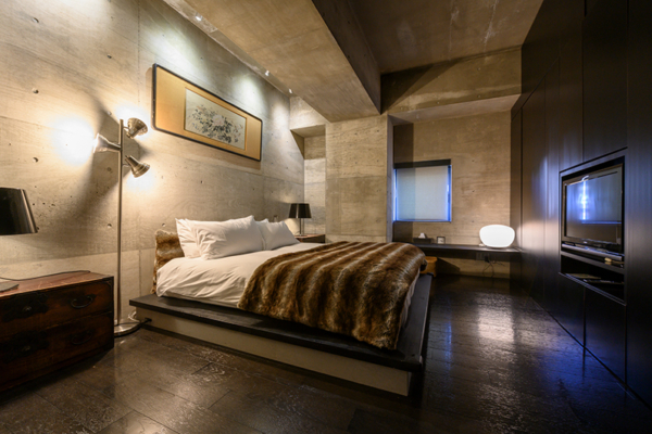 Suiboku Spacious Bedroom with TV | Upper Hirafu Village